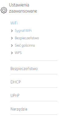 Connect Box, section Wi-Fi Signal