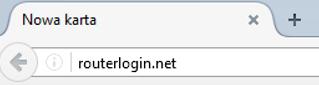 Netgear WNDR4300, adres strony administracyjnej