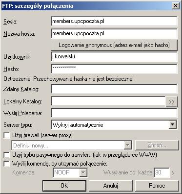 Konfiguracja Total Commander - krok trzeci