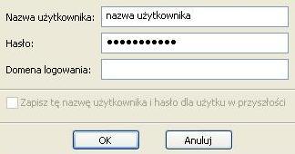 UPC Wi-Free - Windows XP, potwierdzenie nazwy i hasła