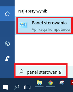 UPC Wi-Free - Windows 10, panel sterowania